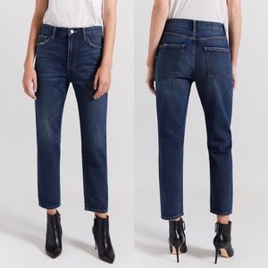 Current Elliott The Vintage Cropped Slim Jeans 27